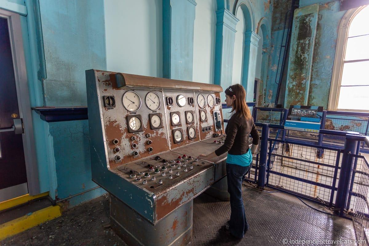 Titanic Pump Room dry docks Titanic sites in Belfast Titanic Quarter