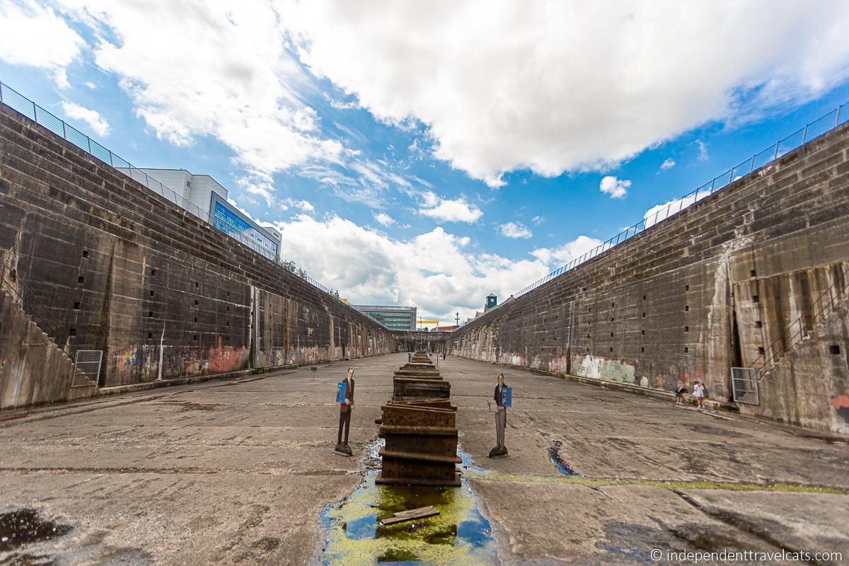 Titanic Dry Dock Thompson Dock Thompson Graving Dock Titanic sites in Belfast Titanic Quarter