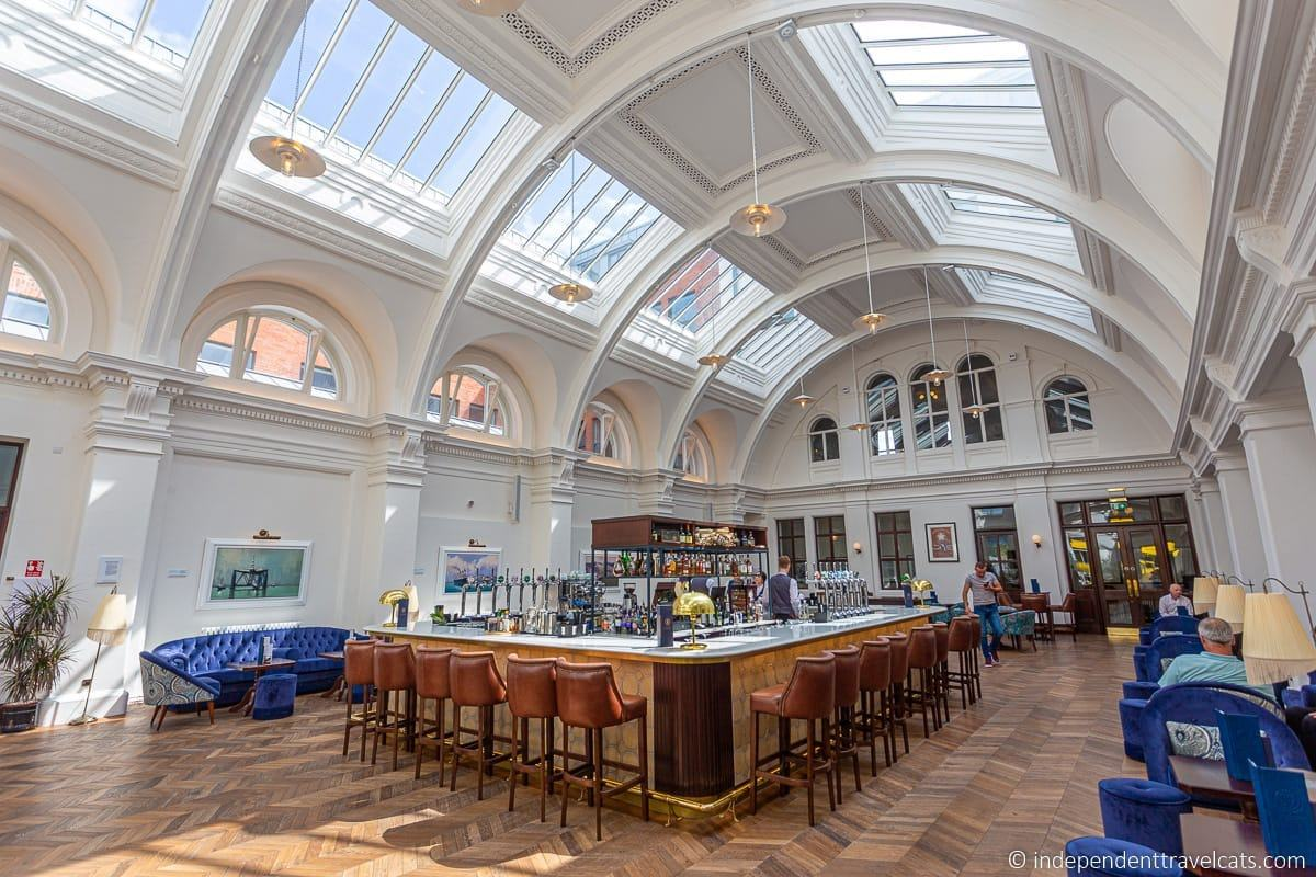 former Harland and Wolff Drawing Offices at Titanic Hotel Belfast