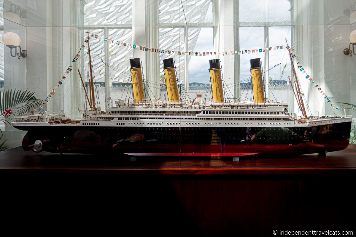 ic Model Titanic Hotel Belfast Titanic sites in Belfast martime attractions Northern Ireland
