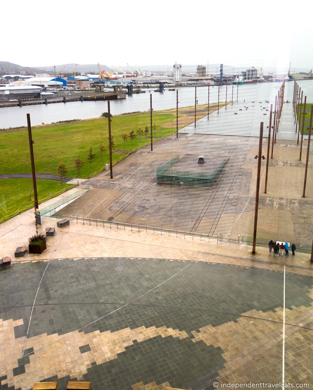 RMS Titanic Slipway where Titanic was built Titanic sites in Belfast martime attractions Northern Ireland