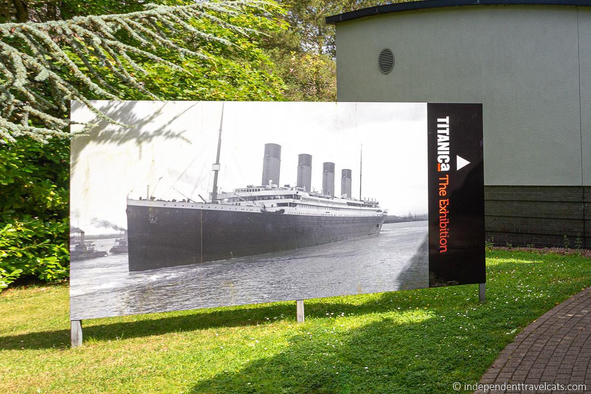 Ulster Transport Museum Titanic Exhibition RMS Titanic sites in Belfast Northern Ireland